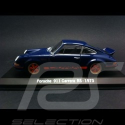 Porsche 911 Carrera RS 1973 blau 1/43 Spark SDC001