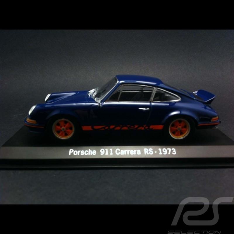 Porsche 911 Carrera RS 1973 bleu 1/43 Spark SDC001