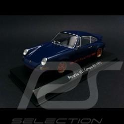 Porsche 911 Carrera RS 1973 blue 1/43 Spark SDC001
