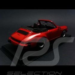 Porsche 911 SC Cabriolet 1983 rouge 1/43 Spark SDC005