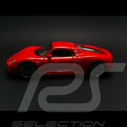 Porsche 918 Spyder rouge jouet à friction Welly MAP01026016 pull  back toy Spielzeug Reibung