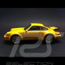 Porsche 965 jaune jouet à friction Welly MAP01026916