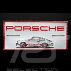 Badge Porsche 911 Carrera tissu à coudre ou à boutonner   fabric sewing or buttoning Stoff Aufnäher nähen oder knöpfte