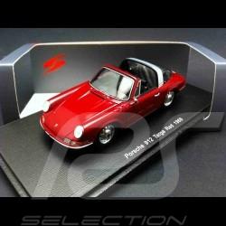 Porsche 912 Targa 1968 red 1/43 Spark S4924