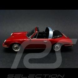 Porsche 912 Targa 1968 rouge 1/43 Spark S4924