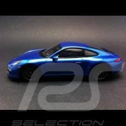 Porsche 991 GTS 2014 bleu métallisé 1/43 Spark S4938