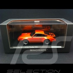 Porsche 911 Turbo 3.0 1975 orange 1/43 Minichamps CA04316032