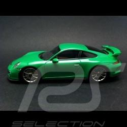 Porsche 991 GT3 2013 vert vipère 1/43 Minichamps CA04316082