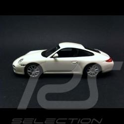 Porsche 997 Carrera 4S coupé phase II 2008 white 1/43 Minichamps 403066431