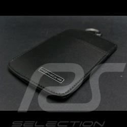 Porsche Porte-clés pochette cuir noir Keyring Schlüsseltäschchen Porsche Design WAP0300110D