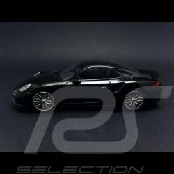 Porsche 991 Turbo S 2013 noire 1/43 Minichamps CA04316067
