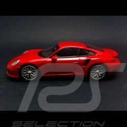 Porsche 991 Turbo S 2013 rouge carmin 1/43 Minichamps CA04316066