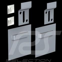 Kit de fixation plaques décoratives Dibond Mounting kit for decorative plates Dibond Montagesatz Dibond Dekorplatten