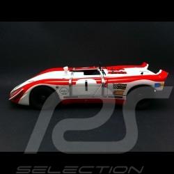 Porsche 908 / 02 Vainqueur Watkins Glen 1969 n° 1 1/18 Autoart 86971