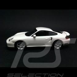 Porsche 996 Turbo blanche 1/43 Minichamps WAP0205050AVKK
