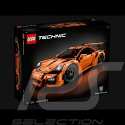 Porsche 991 GT3 RS orange 1/8 Lego Technic 42056