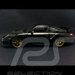 Porsche 997 GT2 RS 2011 noire 1/18 Minichamps 100069402