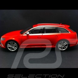 Audi RS6 Avant 2013 rouge 1/18 Minichamps 110012011