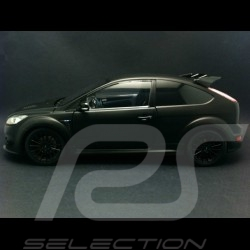 Ford Focus RS 500 Top Gear noir mat 1/18 Minichamps 519100800