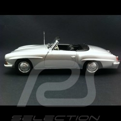 Mercedes Benz 190 SL 1955 silver grey 1/18 Minichamps 100047031