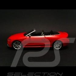 Audi RS5 Cabriolet 2012 rouge 1/43 Minichamps 410011230