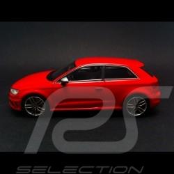 Audi S3 2013 rouge 1/43 Minichamps 437013020