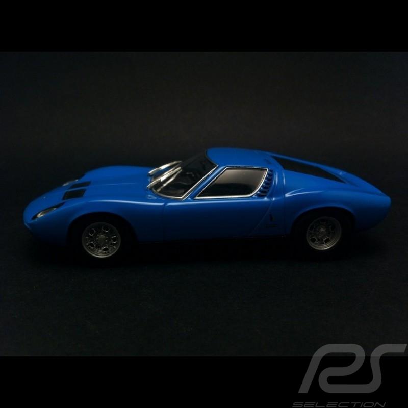 Lamborghini Miura Sv 1971 Azzurro Blue 1 43 Minichamps 400103650