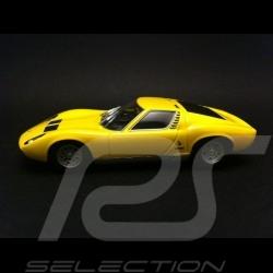 Lamborghini Miura P400 SV 1971 Jaune 1/43 Minichamps 436103650