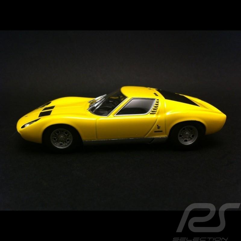 Lamborghini Miura P400 Sv 1971 Jaune 1 43 Minichamps 436103650