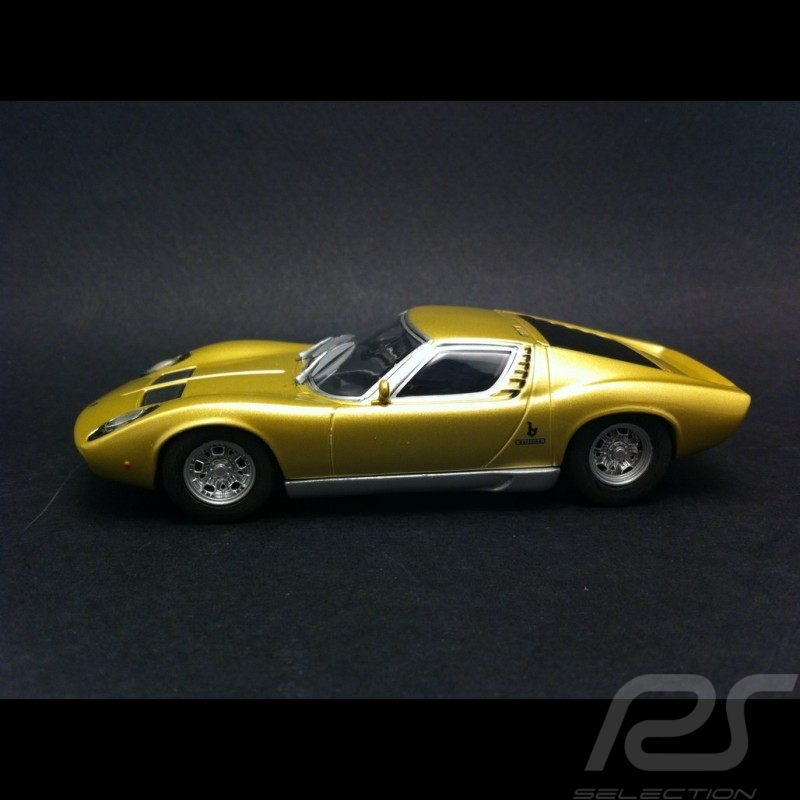 Lamborghini Miura P400 1968 Gold 1 43 Minichamps 436103000