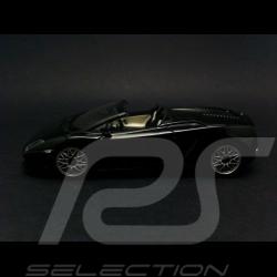 Lamborghini Gallardo LP560 4 Spyder 2008 noir 1/43 Minichamps 400103830