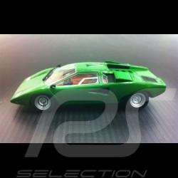 Lamborghini Countach LP400 1974 verte 1/43 Minichamps 436103100