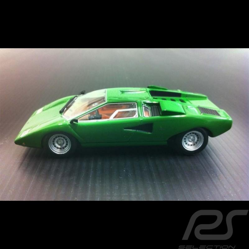 Lamborghini Countach Lp400 1974 Grun 1 43 Minichamps 436103100