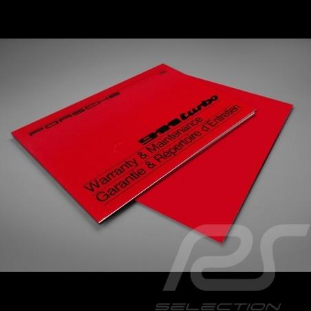 Wiedergabe Service Buch Porsche 911 Turbo 1981
