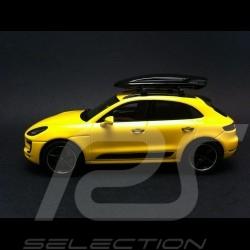 Porsche Macan GTS Tequipment yellow 1/43 Spark WAX02020034