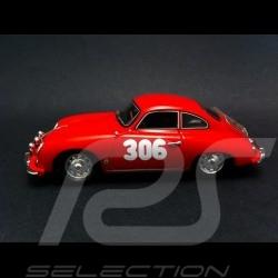 Porsche 356 Rallye Monte Carlo 1958 n° 306 1/43 Spark S1354