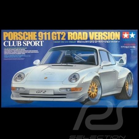 Kit Porsche 911 type 993 GT2 1996 1/24 Tamiya 24247