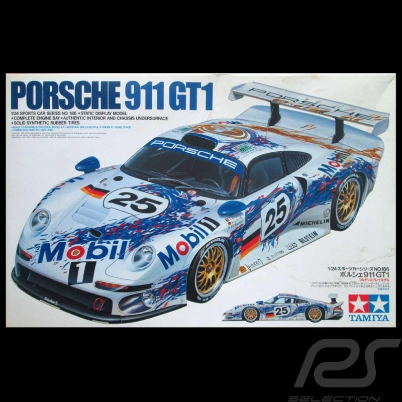 Le Mans 1996 Neu Tamiya 24186-1//24 Porsche 911 Gt1