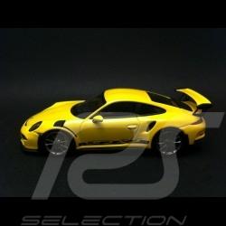 Porsche 991 GT3 RS 2016 jaune racing 1/43 Minichamps CA04316040