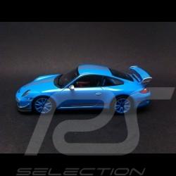 Porsche 997 GT3 RS 4.0 2011 bleu Riviera 1/43 Minichamps CA04316051