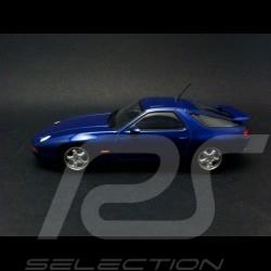 Porsche 928 GTS 1991 bleu 1/43 Minichamps 940068101