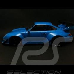Porsche 993 RWB 2016 bleu riviera 1/18 GT SPIRIT ZM087