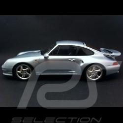Porsche 993 Turbo S 1998 gris métallisé 1/18 GT SPIRIT ZM062