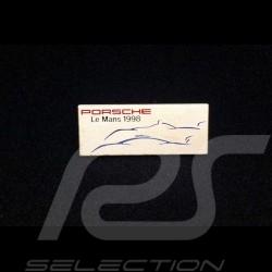 Porsche badge Le Mans 1998 911 GT1 Silhouette