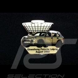 Porsche badge Opening Porsche Leipzig - August 2002 - Porsche Cayenne