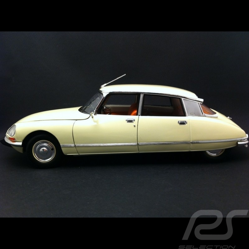Citroen Ds 23 1973 Ivory 118 Norev 181582 Selection Rs