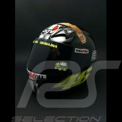 Casque AGV Valentino Rossi Moto GP Test Jerez 2007 1/2 Minichamps 327070046