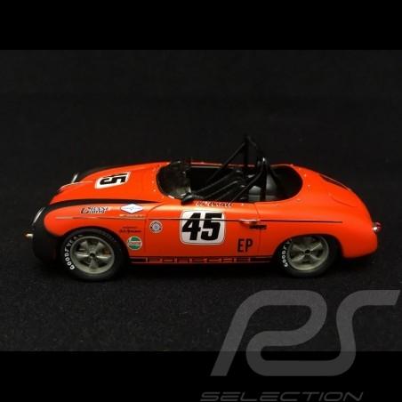 Porsche 356 Speedster n° 45 Ed Parlett orange / noir 1/43 Schuco 450883700