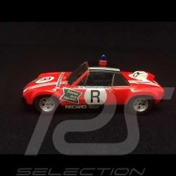 Porsche 914 6 R ONS Rennstrecken Sicherung Norisring 1973 rot 1/43 Schuco 450370600