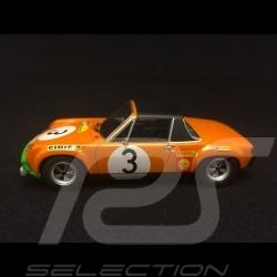 Porsche 914 6 Marathon de la route 1970 n° 3 Waldegard 1/43 Minichamps 400706503